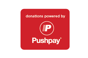 You may donate anywhere, anytime through Pushpay.